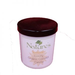 Luxury Organic Coconut Candle - 160gm 3 Options