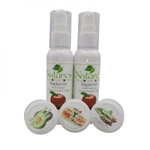 Nourish  trial products for Normal - Dry & Dehydrated Skin. Natural, organic and vegan.