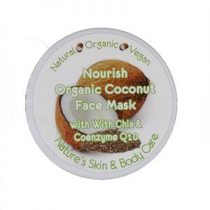 Nourish Mask - Organic Coconut + Coenzyme Q10 & Fermented Grapeskin + Chai 100gm