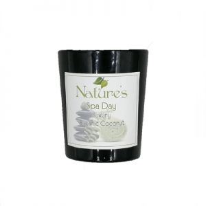 Luxury Organic Coconut Candle - 60gm Limited Christmas additions