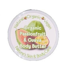 Organic Body Butter Passionfruit & Guava 100gm