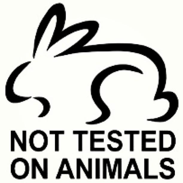 Not tested on animals - 100% vegan ingredients